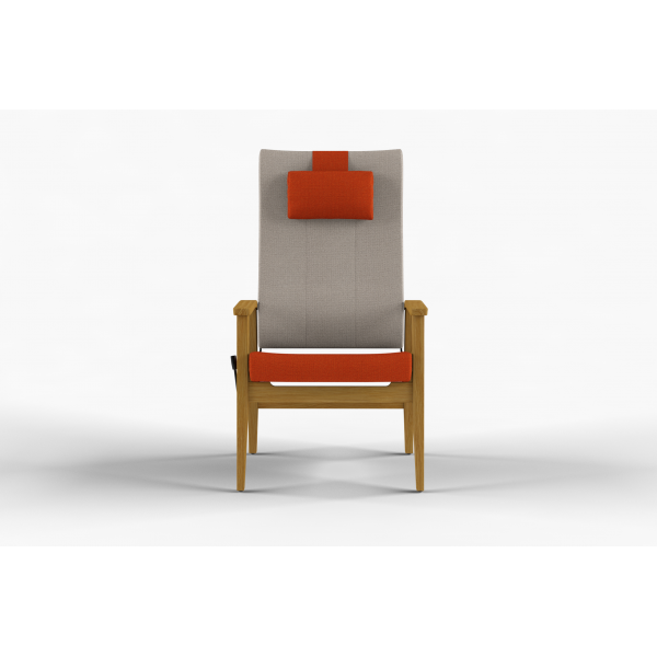 NEXUS - Chair high back, stepless adjustment of back, neck rest