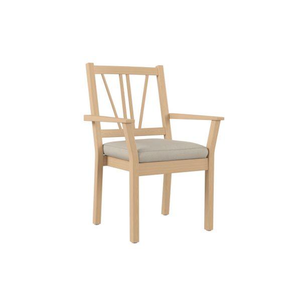 SALINA - Stablestol med armlen