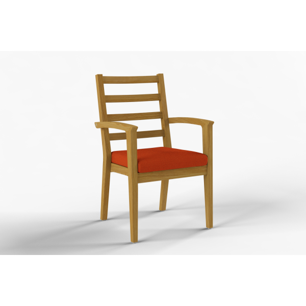 NEXUS - Dining chair with armrest