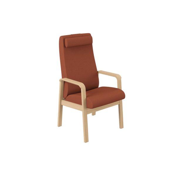 ZETA - Høyrygget stol