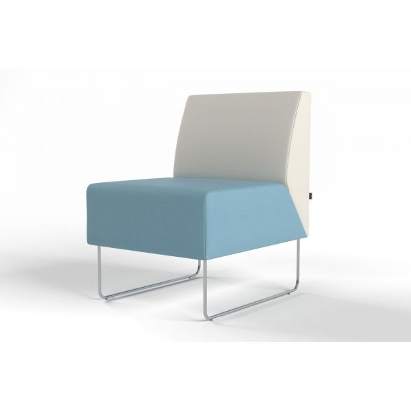 Pivot 1-seater without armrest