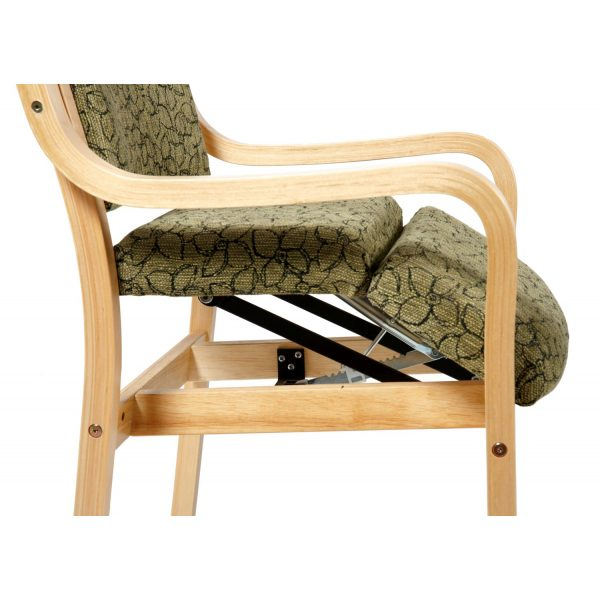 BANKETT - Multi stackable chair with armrest
