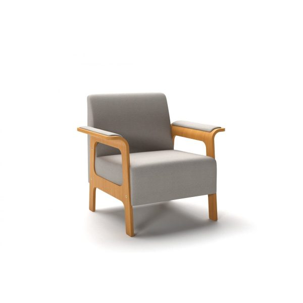 ICI - 1-seater element with armrest/leg