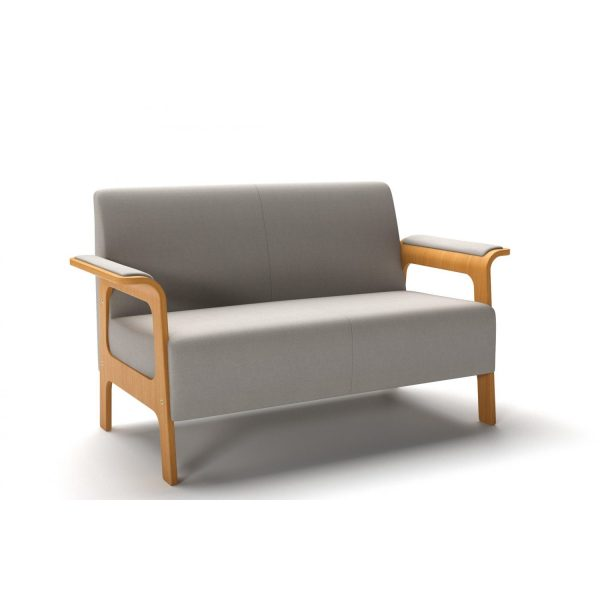 ICI - 2-seater element with armrest/leg