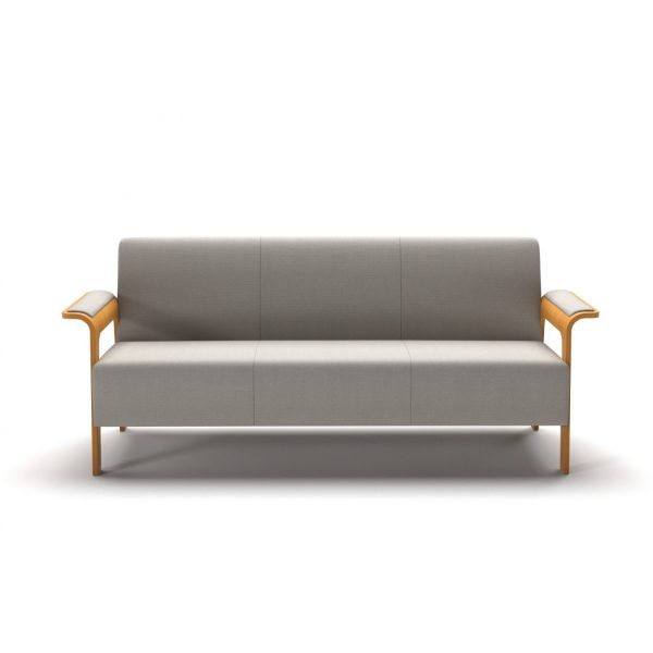 ICI - 3-seater element with armrest/leg